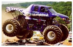 Vile monster truck Overkill