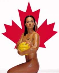 Ms. Horn-Miller of Canada's Water Polo Team